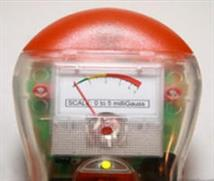 emf electromagnetic field gauge indicator