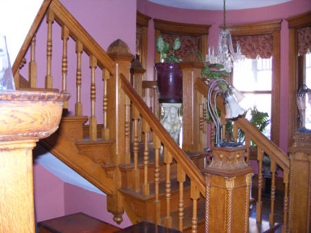 the stevenson toovey home staircase